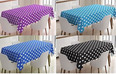 Polka Dot Tablecovers Party Events Disposable Plastic Tablecloth 54