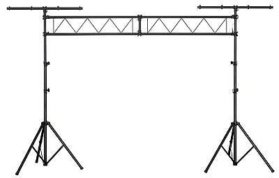 DJ PA Licht Stativ Stahl Traversen Lampen Stativ Truss System T-Bar 3m Crossbar
