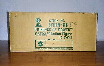 Box Catra Felina Princess of Power 1984 She-ra Mattel Vintage Action Figure