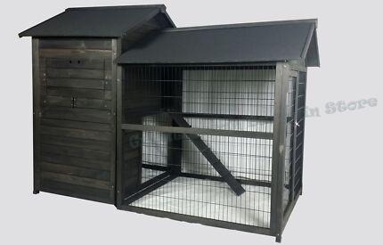 Chicken Coop Rabbit Run Hutch Cage House