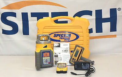 Spectra Precision Gl612 Single Slope Grade Laser W 90 Beam Out The Top Layout