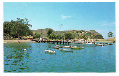 BSA Camp Emerald Bay Post Card Catalina Island California