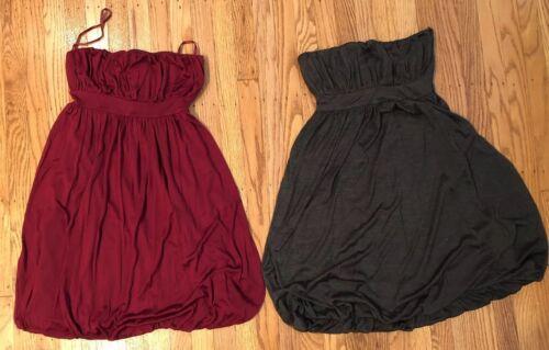 Banana Republic Women's Sz 2 Petite Bubble Dresses Silk Ne
