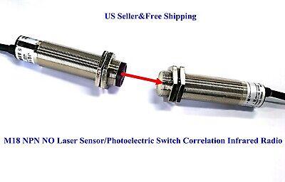 Us M18 Npn No Laser Sensorphotoelectric Switch Correlation Infrared Radio