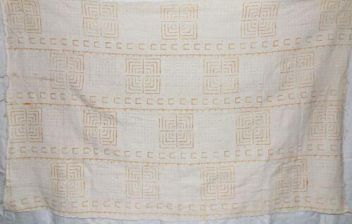 African mud cloth bogolan bambara bogolanfini new Africa bamana fabric n932