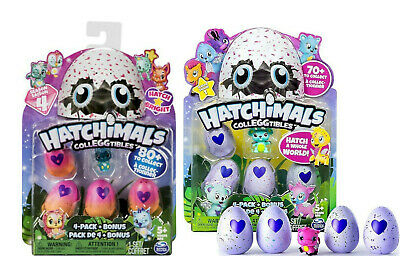 NEW Hatchimals CollEGGtibles TWO 4-Pack Eggs + Bonus Figure S1 & S4 BLIND BOX