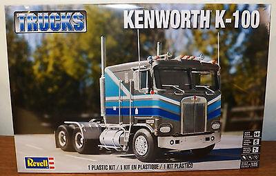 Revell Monogram Kenworth K-100 Cab and Chassis model kit 1/25