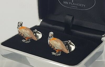 New Partridge Cuff links,Game bird cufflinks,Mens 3D cufflinks,Men's Accessories