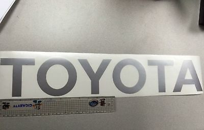 TOYOTA SILVER TAILGATE SPORT Decals Vinyl Stickers 1 truck bed T-100 TACOMA ()
