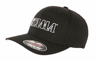 TAMA Flexfit Baseballcap mit weiß aufgesticktem Logo Gr. S/M