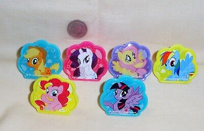 Beauty,Cupcake Ring,Plastic,DecoPac, Multi-Color,12 in set. (My Little Pony Cupcake Ringe)
