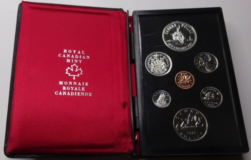 "1975 Royal Canadian Mint Double Dollar Proof Set - ""Calgary Cowboy"""