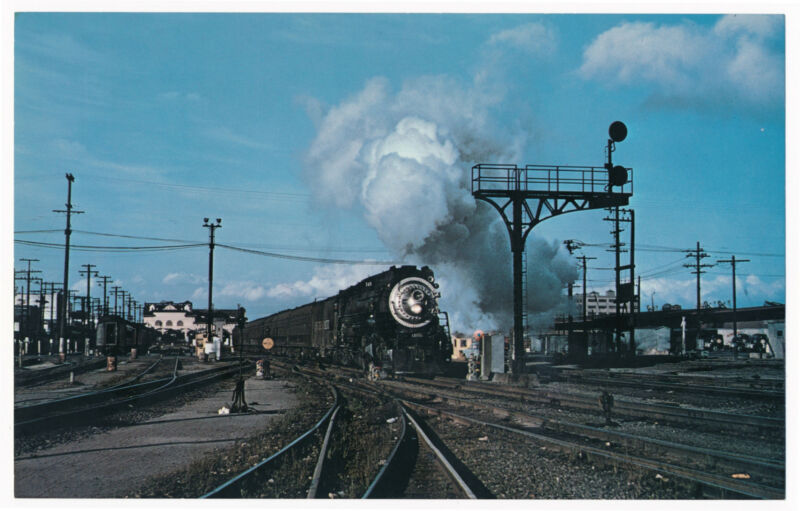 Vanishing Vistas - Southern Pacific Railroad Locomotive no. 4451, Train no. 148