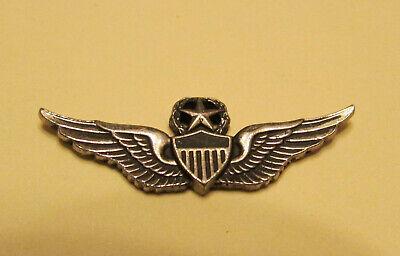 Vintage 1970's-1980's US Army Master Aviator Mini Wings ZIPPO LIGHTER EMBLEM