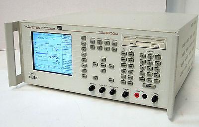 Wavetek 3600d Cellular Test System - Ampsnampsgpibvselp  Calibrated