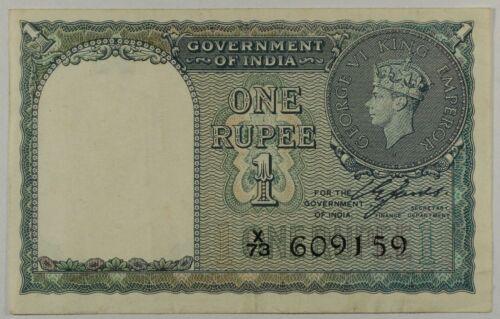 INDIA - 1 Rupee Note - 1940 - P25a - VF+