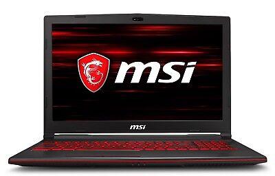 MSI Gaming Laptop 15.6 FHD 6-Core Intel i7-8750H GTX 1050Ti 1TB HD 256GB SSD 8GB