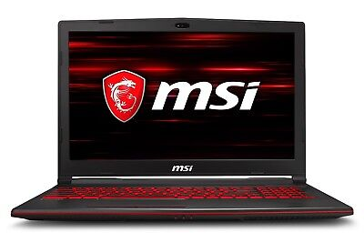 MSI GL63 Gaming Laptop 15.6 FHD Intel i7-8750H GTX 1050Ti...