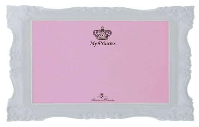 Designer My Prinzessin Pink Hund Katze Tischset rutschfest mit Crown Design