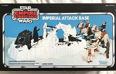 Star Wars ESB Vintage Imperial Attack Base Playset Palitoy