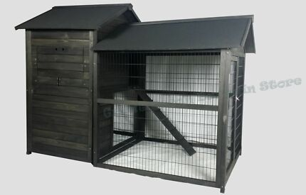 Chicken Coop Rabbit Run Hutch Cage House