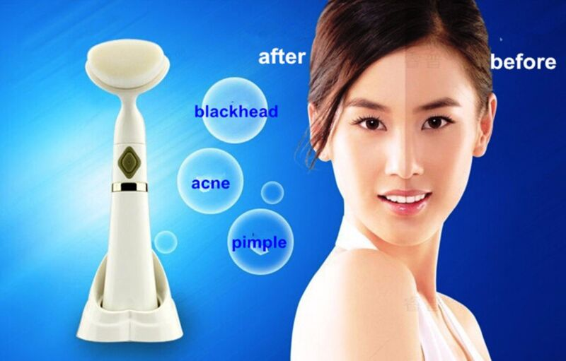 Pobling Sonic Deep Pore Cleanser Face Exfoliator Blackheads remove Fast