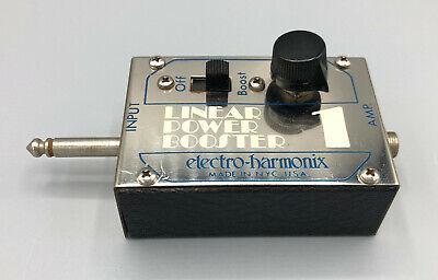 Electro-Harmonix Linear Power Booster 1 1970s LPB-1 - (Electro Harmonix Lpb 1 Linear Power Booster)