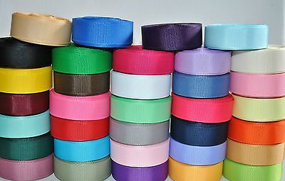 "wholesale 5/8 "" grosgrain ribbon lot  34 yards (34 colors -1y each) for hairbow"