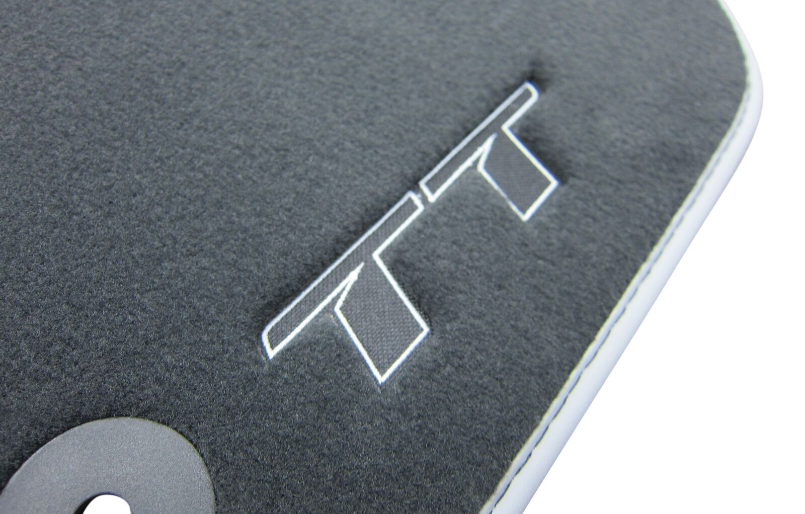 Audi TT 8J Velours Fußmatten Autoteppiche Bj2006/_2015 Sport Logo Neu*Premium *