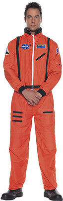 ASTRONAUT COSTUME ADULT ORANGE JUMPSUIT ROCKET SCIENTIST NASA SPACE MENS SUIT](Astronaut Costum)