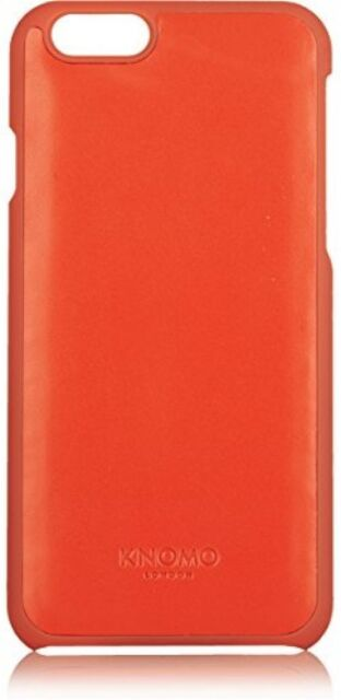 Knomo 14-210-TOM Leather Snap On Case APPLE IPhone 6/6S PLUS RED