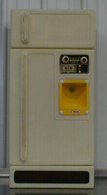 Vintage Little Tikes Kitchen Fridge Refrigerator Pretend Play Child Size