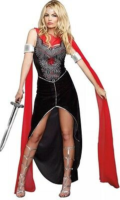 Sexy Amazon Warrior Zena Athena Goddess Medieval Pallas Womens Adult XL Costume ](Goddess Athena Costume)