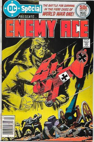DC Special #26, DC 1977 Enemy Ace--all by Joe Kubert VF+