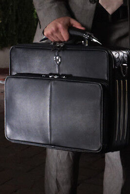 ZEYNER BULLHORN LEATHER PREMIUM FULL-GRAIN NAPPA LAPTOP CASE