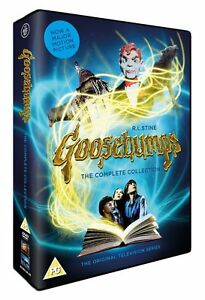 Goosebumps The Complete Collection Series 1, 2, 3 & 4 DVD Box Set New Sealed