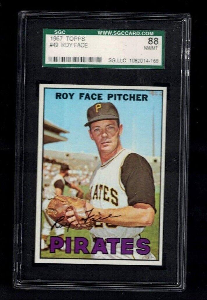 1967 Topps #49 Roy Face Pittsburgh Pirates Baseball Card