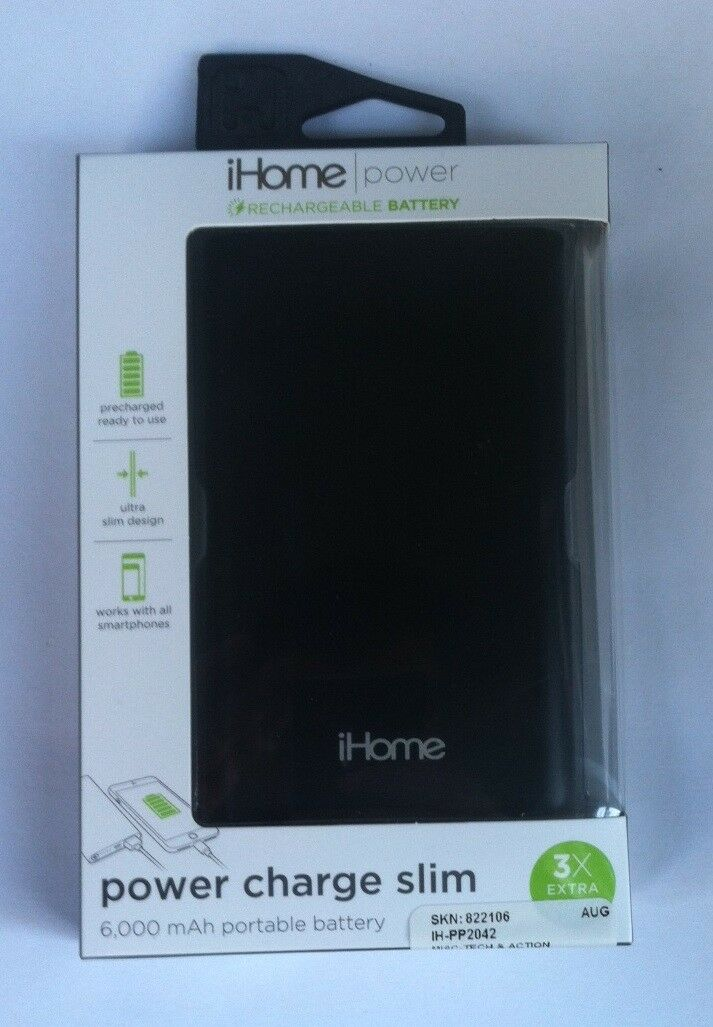 GENUINE iHome Apple iPhone Portable Battery Charger Smartpho