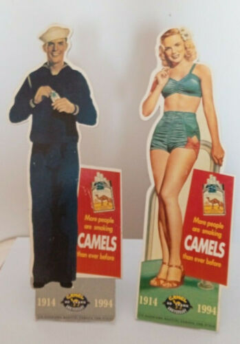 CAMEL CIGARETTE advertising MADE OF HARD PAPER -ANNIVERSARY 1914-1994 !!!