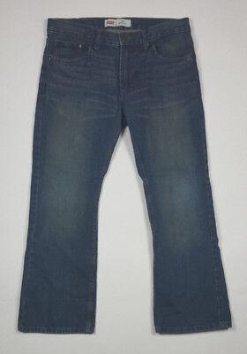 Levi's Boy's 527 Boot Cut Classic Red Tab Denim Blue Jeans Pants S12 Husky 32x27 - Husky Classic Jeans