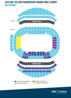 8x GOLD NRL GRAND FINAL TICKETS FOR SALE