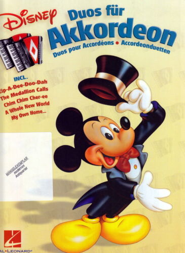 Noten gebraucht Disney Duos für Akkordeon Hal Leonard 9789043127011 HASKE -DHE14