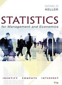 Statistics for Management and Economics 11th e solution manual