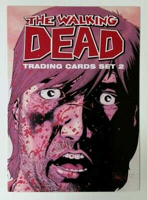 THE WALKING DEAD Comic Book Trading Cards Set 2 Promo Card #P1 Cryptozoic 2013