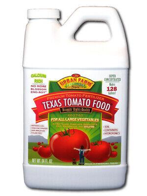 Urban Farm Fertilizers, Texas Tomato Food, 1/2 gal Competition Tomato -