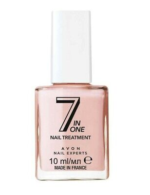 AVON Nail Experts 7 In One Nail Treatment  ~ 10ml New