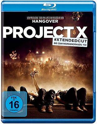 Blu-ray * Project X (Extended Cut) * NEU OVP * Thomas Mann * (Projekt (Teen Superhelden)