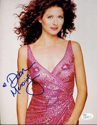 Debra Messing Jsa Coa Hand Signed 8X10 Photo Authenticated Autograph