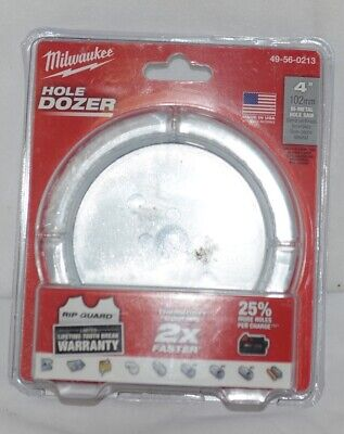 Milwaukee 49560213 Bi Metal Holesaw Hole Dozer 4 Inches