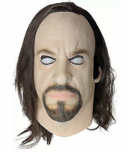 Men's WWE World Wrestling Tombstone Undertaker Latex Hallowe
